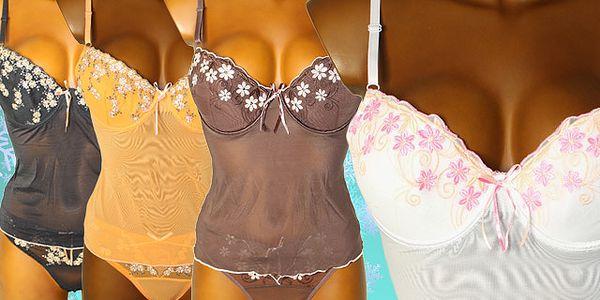 Sexy košilka s tangy, doprava zdarma