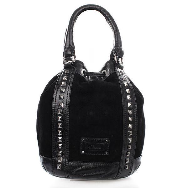 Dámská černá kabelka se cvočky Clarks