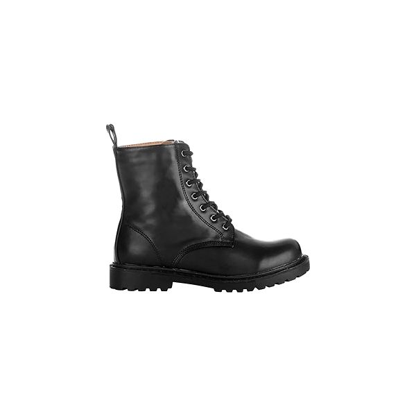 Šněrovací boty, černá