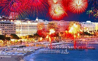 Silvestr na pláži: oslavte Nový rok na Azurovém pobřeží ve Francii! Vč. ubytování.