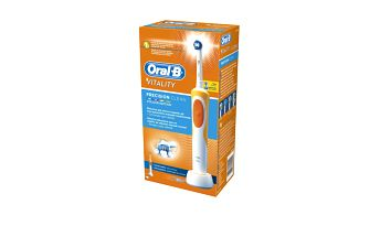 Oral B zubní kartáček Vitality Precision Clean oranžová