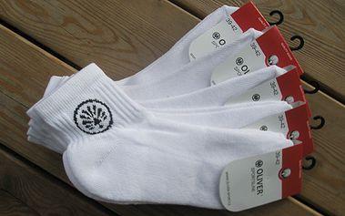5 párů vysoce kvalitních sportovních ponožek Oliver za sympatických 299 Kč! Dostupné ve všech velikostech!