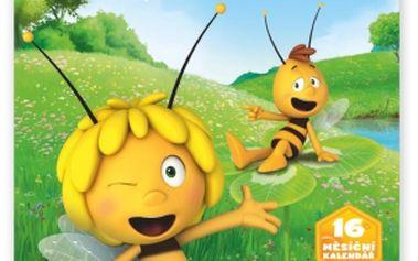 Včelka Mája, poznámkový kalendář 2015, 30 x 30 cm