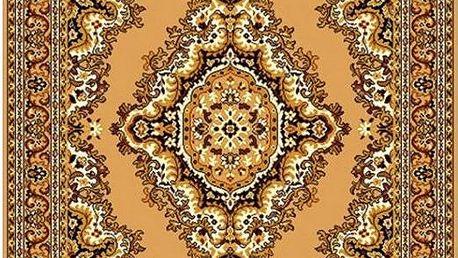 Vopi Kusový koberec Teheran 102 Beige, 60 x 110 cm