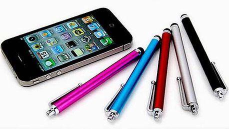Uľahčite si každodenné narábanie s dotykovými plochami s kvalitným dotykovým perom v 5 farebných prevedeniach.