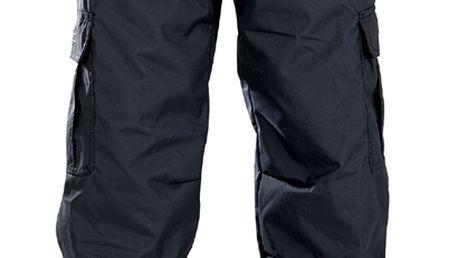 chlapecké snowboardové kalhoty Boys Mannual Ridge Insulated Pant black