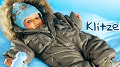 Měkoučká dětská zimní kombinéza pro kluky i holky