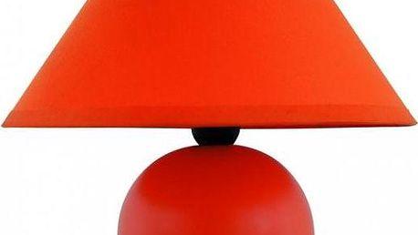 Stolní lampa Ariel, oranžová, Rabalux