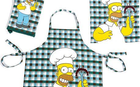 Tip Trade Kuchyňská souprava Homer Simpsons a klobása