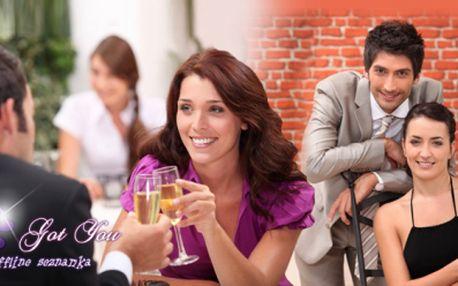 Seznamovací večer pro každého! Seznamte se během chvíle s novými lidmi nebo svou spřízněnou duší!