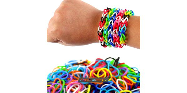 Mini sada Loom Bands gumiček!