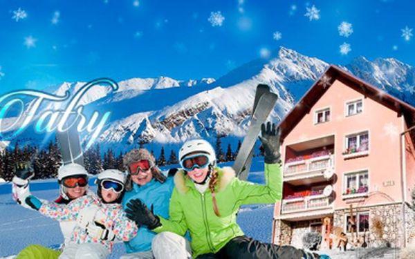 Zimní pobyt na 4 nebo 5 dní pro dva, v penzionu Šilon v Tatrách včetně bohaté POLOPENZE a slevy na skipasy!