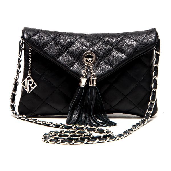 Dámská černá menší kabelka Isabella Rhea