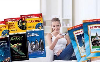 Sada DVD Krásy ČR, nebo 20 dokumentárních filmů na DVD vdle Vašeho výběru!