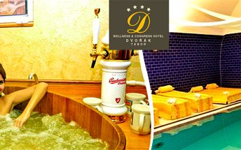 Pivní procedury i wellness v Hotelu Dvořák Tábor