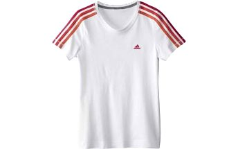 Bavlněné dívčí tričko - adidas YG ESS TEE