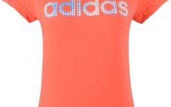 Dívčí volnočasové triko - Adidas YG W LIN TEE