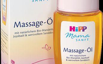 HiPP Mamasanft Masážní olej na strie - 100ml
