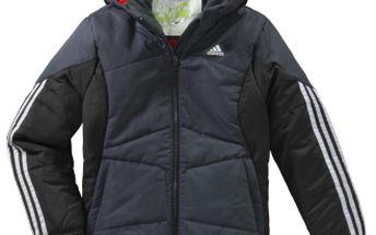 Chlapecká zimní bunda adidas BOYS PADDED BTS JACKETS