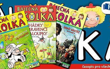 Předplatné dětského časopisu Báječná školka