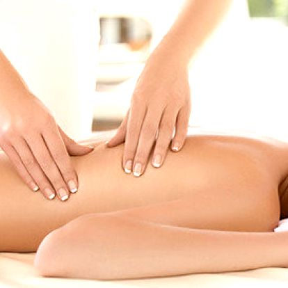 60minutová masáž pro zdraví vašich zad a krční páteře
