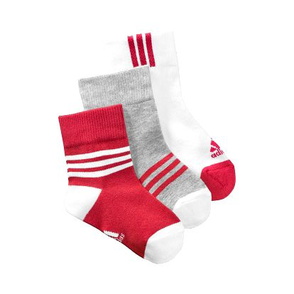 Dětské ponožky - adidas THIN KIDS 3 PAIR PACK
