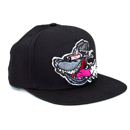 Kšiltovka Booger Kids Road Dog Black Snapback