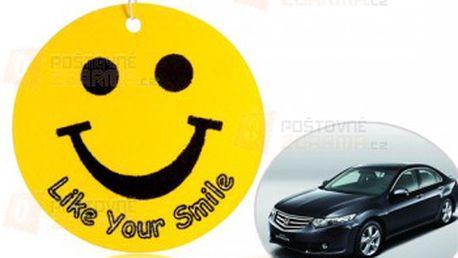 Osvěžovač vzduchu do auta - smajlík a poštovné ZDARMA! - 9999915025