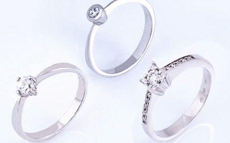 Luxusní prsteny s briliantem s různými motivy