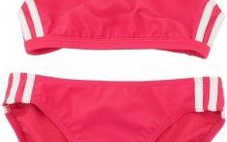 Dívčí plavky - Adidas 3 STRIPES TWO PIECE