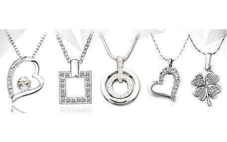 Romantický set šperků s krystaly Swarovski: výběr z 5 druhů!