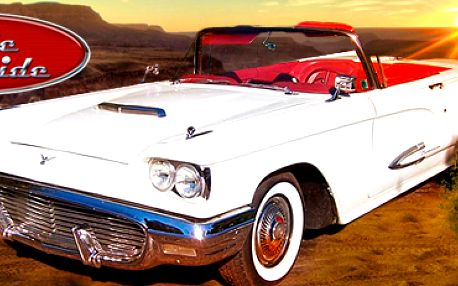 Jízda v amerických klasikách: Chevrolet Corvette Stingray nebo Ford Thunderbird!