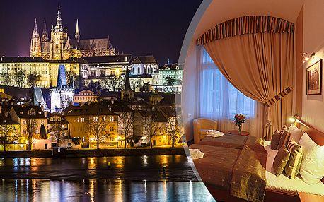 Víkend plný luxusu v Praze pro dva se snídaní, jen kousek od centra v Hotelu U Svatého Jana***+