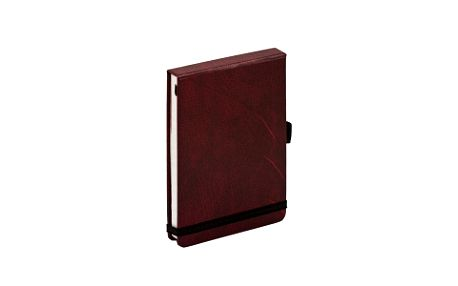 Aligator Bordeaux, flip-pad notes - 13x9 cm, linkovaný