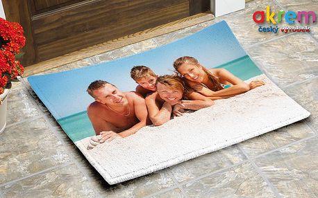 Rohožka s vlastní fotografií – 60x40 cm