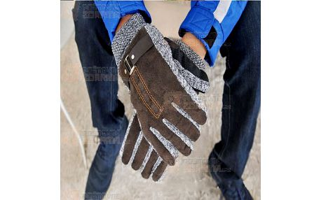 Pánské zimní antiskluzové rukavice a poštovné ZDARMA! - 9999915046