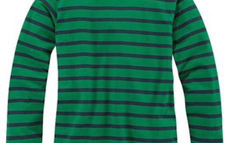 Jednoduché dětské tričko s proužky