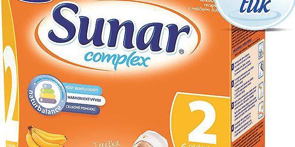 Kojenecké mléko Sunar Complex 2 banán (600 g)
