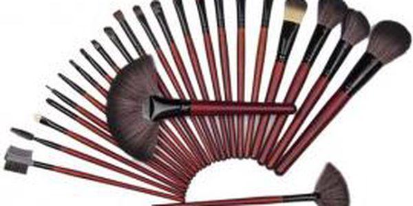 Praktický set 24 kusů štětců pro Make Up