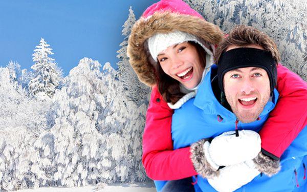 Odpočinkový zimní pobyt v Jizerských horách pro DVA na 4 dny