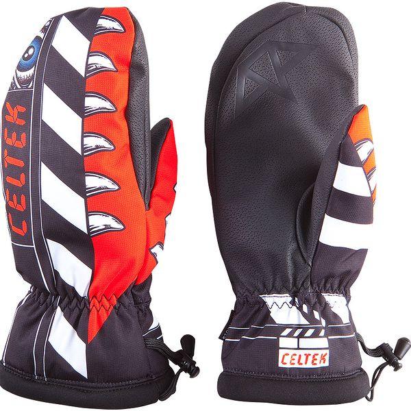 Pohodlné pánské zimní rukavice Celtek Bitten by mitten hol