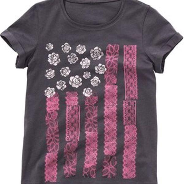 Krásné dívčí tričko
