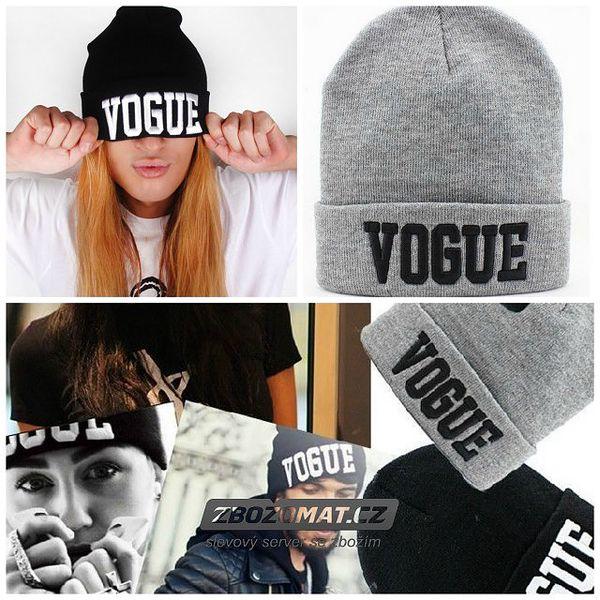 Stylová čepice Vogue - mějte hlavu v teple!