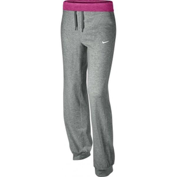 Dívčí kalhoty - Nike N40J CUFF PANT-BK