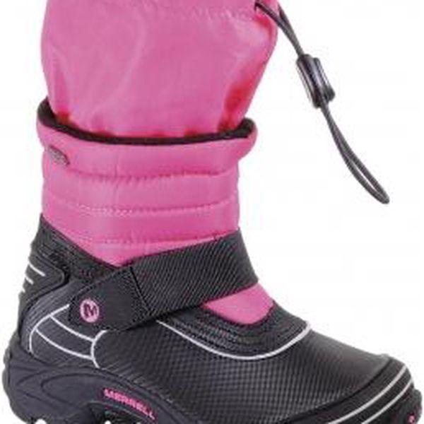 Dětská zimní obuv - Merrell MOAB ARCTIC WATERPROOF