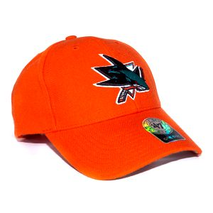Kšiltovka 47 Brand San Jose Sharks Stand By Orange Snapback
