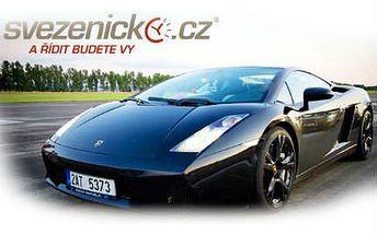 Jízda v Lamborghini, Ferrari či Porsche s 86% slevou!