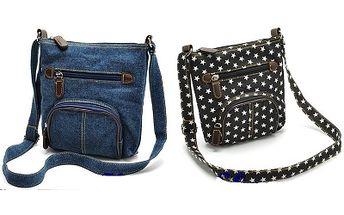 Dámská džínová kabelka