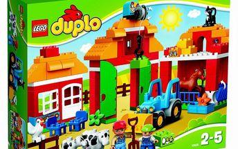 DUPLO LEGO Ville 10525 - Velká farma