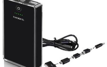 PowerBank Texet, přenosná nabíječka, 10000mAh